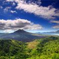 Kintamani dengan keindahan danau dan gunung Batur