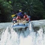 Rafting di Telaga Waja Bali