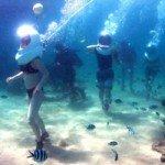 Seawalker di Tanjung Benoa Bali