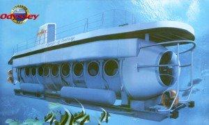 Kapal wisata Odyssey submarine Bali