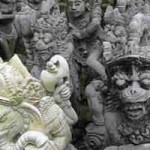 Kerajinan Patung di Batulan Bali