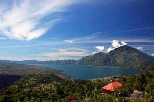 Objek wisata Penelokan - Kintamani