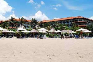 Objek wisata pantai Nusa Dua Bali