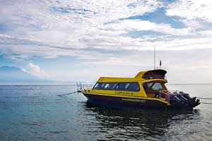 Speed Boat ke Nusa Penida