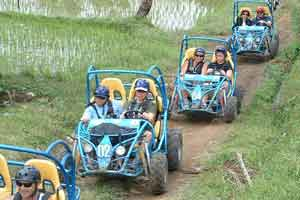 Wisata buggy ride di Bali