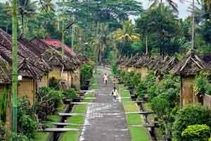 Desa Wisata Penglipuran di Bali