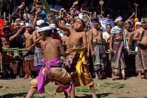 Perang pandan di Desa Tenganan