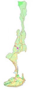 Peta Wilayah Badung