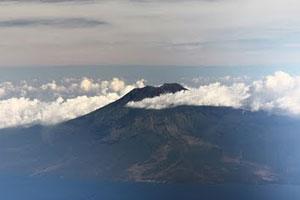 Gunung Agung di Bali