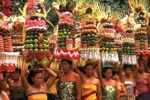 Upacara Agama Hindu di Bali
