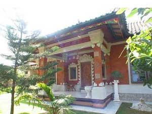 Bentuk bangunan tradisional Bali