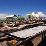 Petani Garam Tradisional di Kusamba
