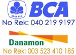 Rekening Bank BCA dan Danamon