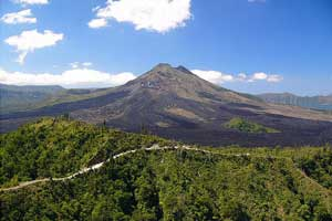 Gunung Batur di kintamani