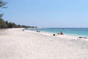 Objek wisata Pantai Gili Trawangan