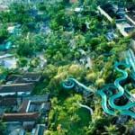 Serunya permainan di Waterbom Bali