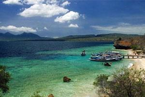 Pulau Menjangan di Kawasan Taman Nasional.