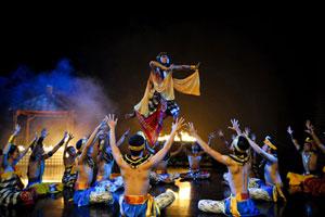 Devdan-Show di Bali Nusa Dua Theatre
