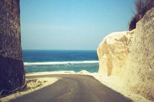 Jalan ke Pantai Pandawa