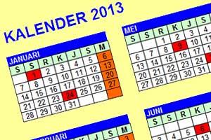 Kalender hari Libur Nasional