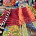 Alat Tenun kain songket tradisional