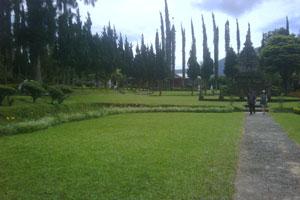 Salah satu sudut Objek wisata Bedugul