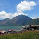Desa Kedisan di tepi Danau Batur