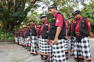 Keberadaan Pecalang di Bali