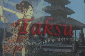 """Tema PKB 2013 """"Taksu"""""""