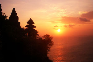 Sunset di Uluwatu